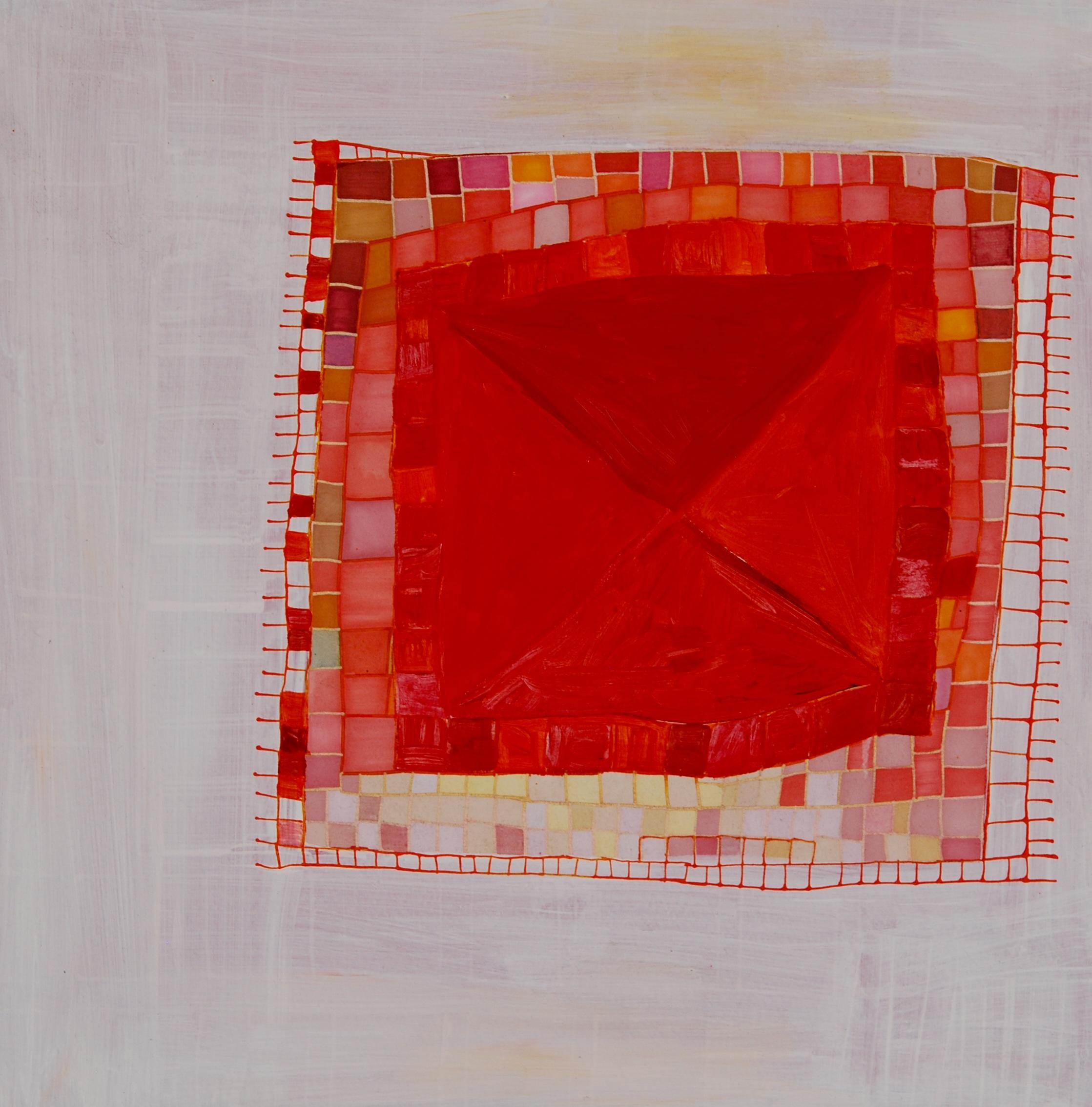 """Bumbing. 2011. Acrylic on Paper. 10"""" x 10"""""""
