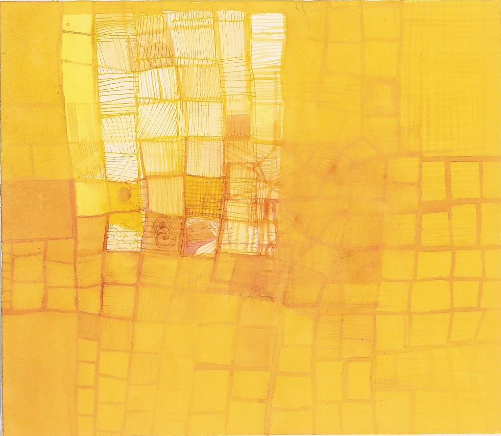 """Hidden. 2006. Ink on Paper. 16"""" x 14"""""""