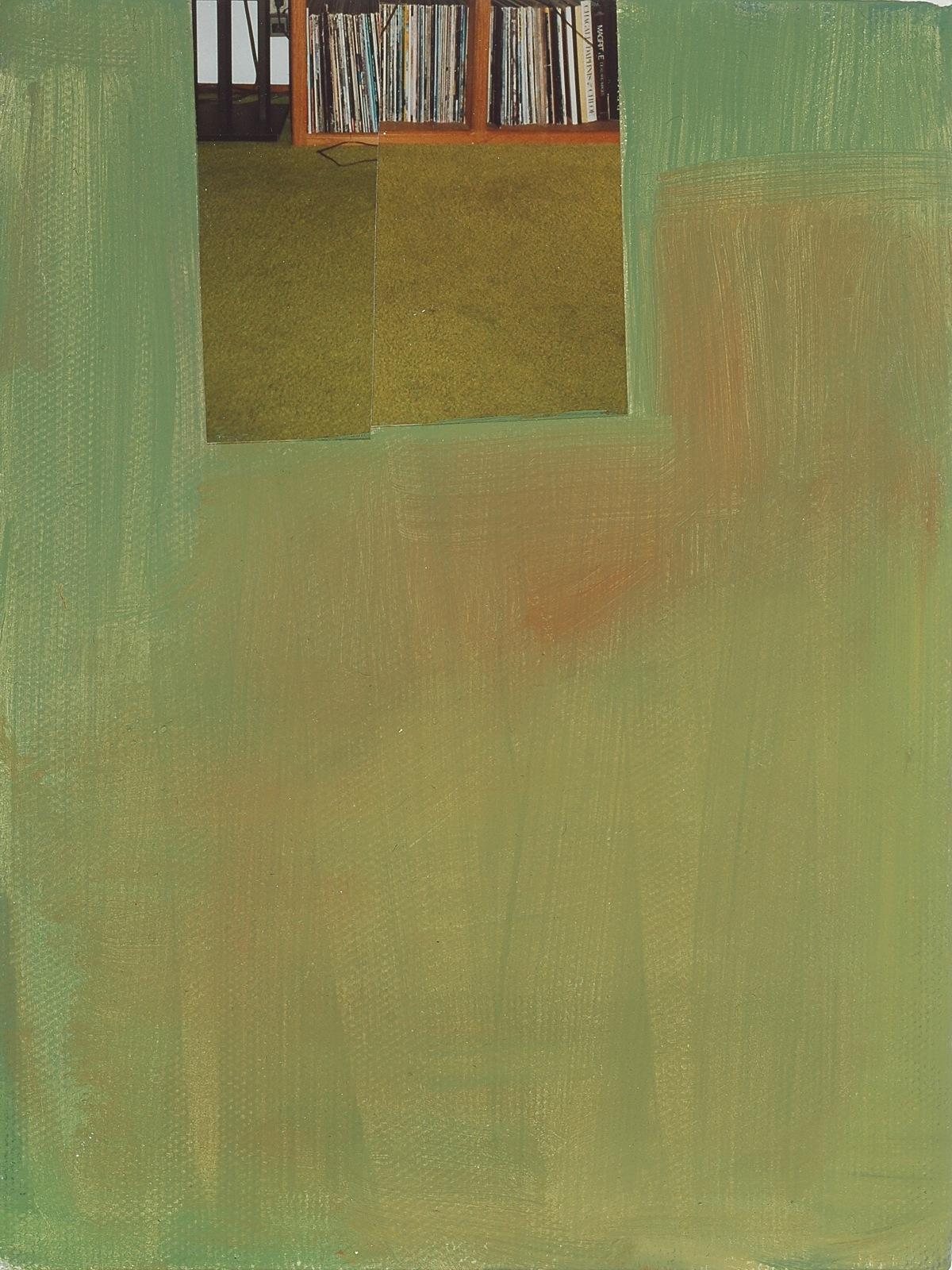 """Carpet. 2008. Mixed Media on Canvas. 8"""" x 6"""""""