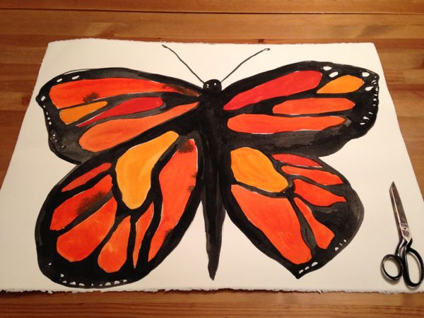 monarch_paper_butterly