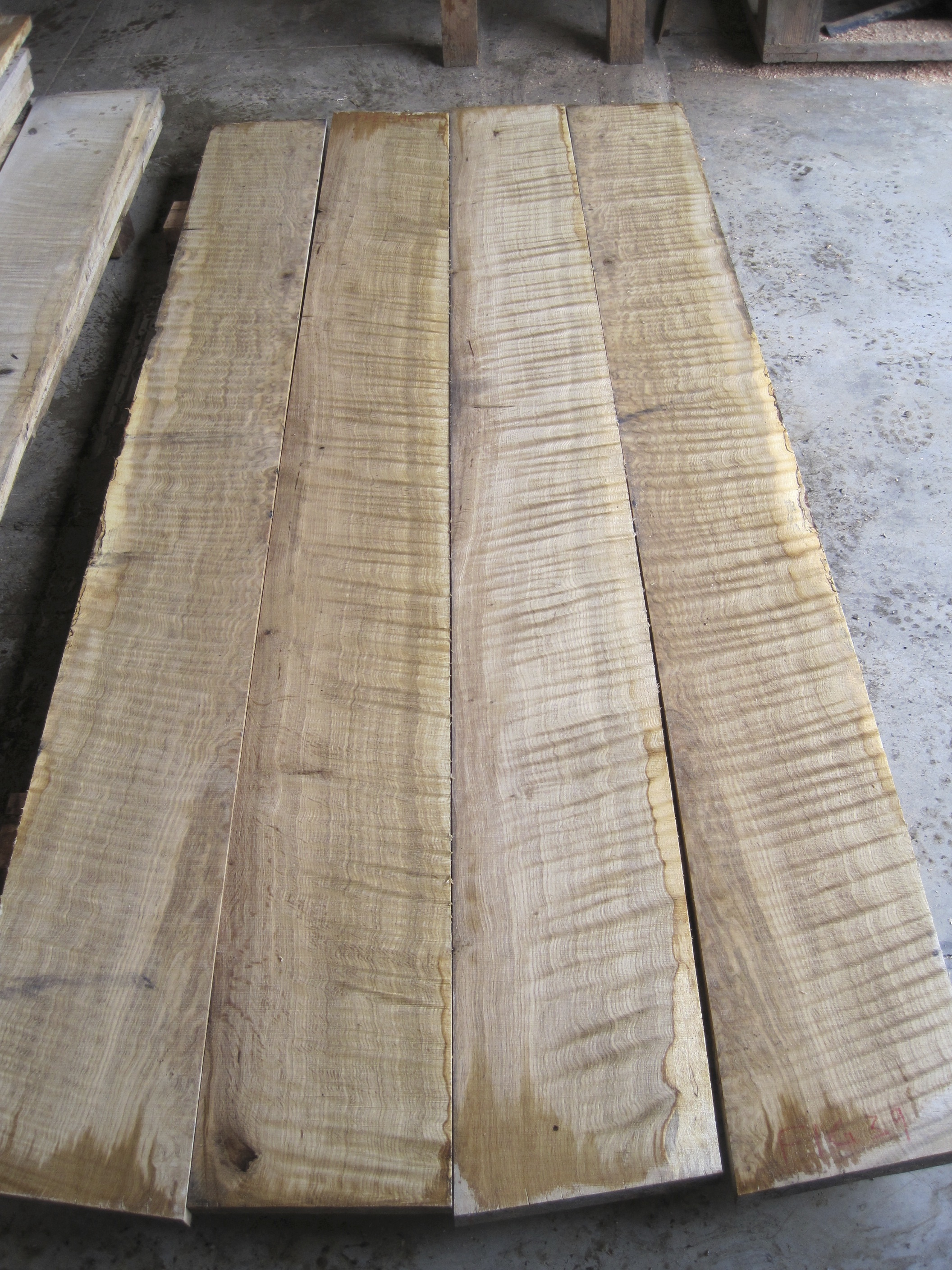 Quilted Oregon White Oak