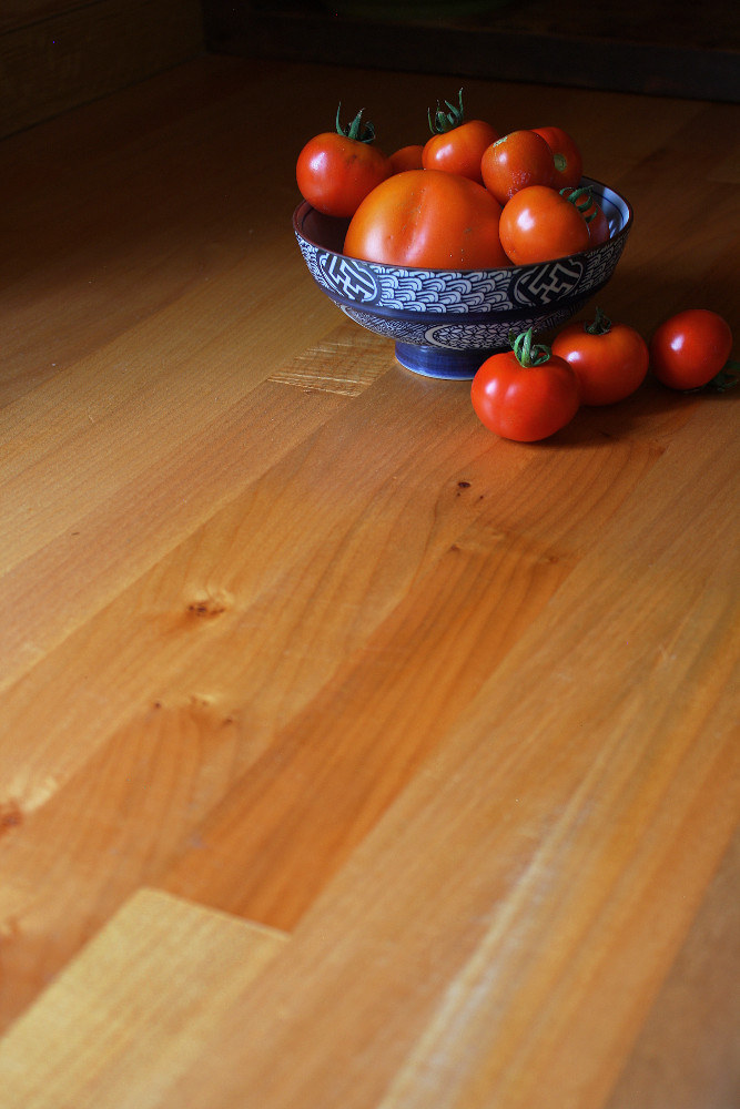 Bigleaf Maple side grain countertop