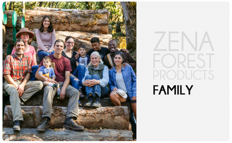 meet the zena forest family