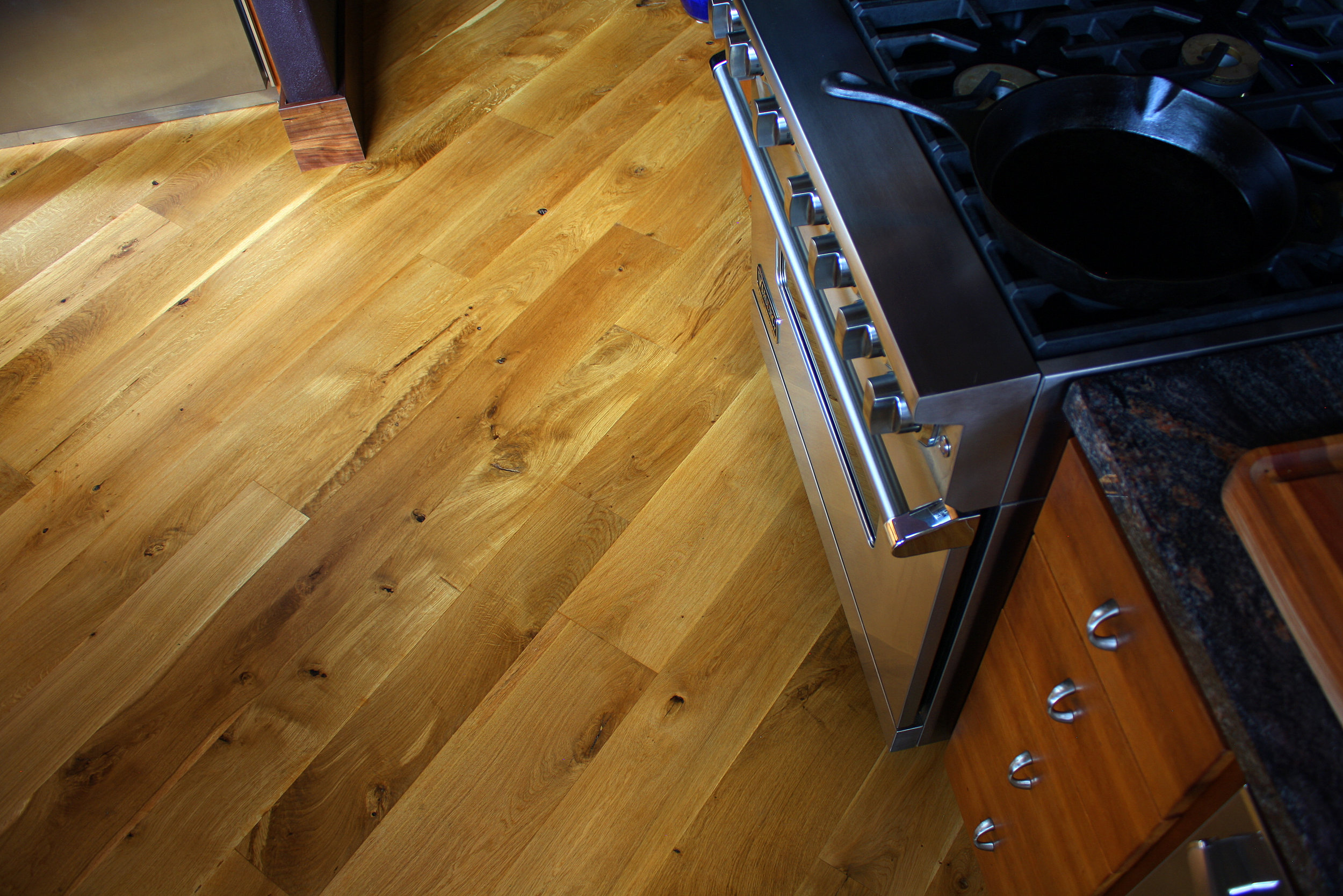 Wide Rustic Oregon White Oak