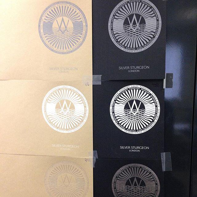 Testing foils at the printers…⠀ .⠀ .⠀ .⠀ #woodssilverfleet #peterhorridge #calligrapher #calligraphyartistagram #thames #luxury #logo #logodesign #branding #brandingdesign #graphics #graphicdesign #graphicdesigner #designagency #structure #form #art #love #illustration #london #lettering #typedesign #thedailytype #typism #logoinspirations