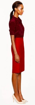 http://www.lyst.com/clothing/jcrew-pencil-skirt-in-super-120s-burnished-cranberry/