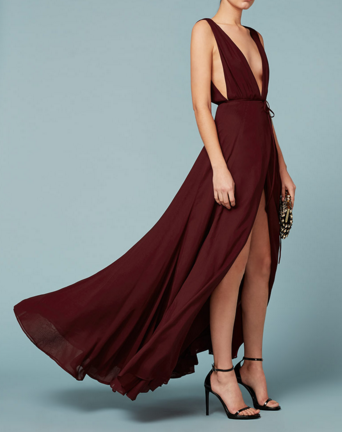 One of my favorites from the sexy ladies of SUSTAINABILITY  Reformation . Perfect for weddings: bring the sass...hold the scandal.