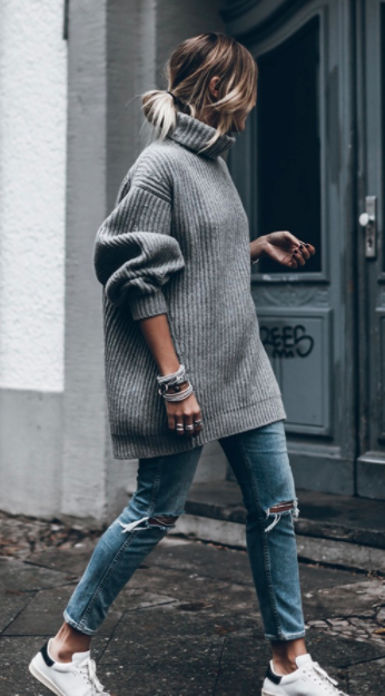 Sweater by Acne - but sold out! Here are alternatives  one , two  and  three