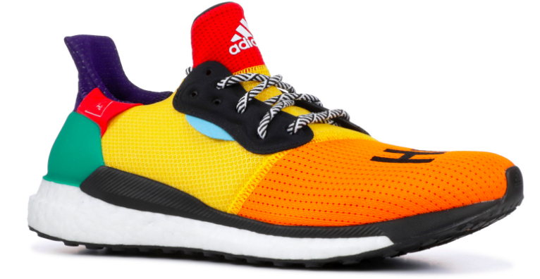 The shoe to literally put SPRING in your step. Bursting with colors, you cannot tell me this sneaker won't put your all-black ensembles in a good mood. / Sneakers:  Adidas