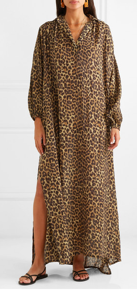 Ok. I snuck in a caftan. But its animal print so…absolved!  Mes Demoiselles