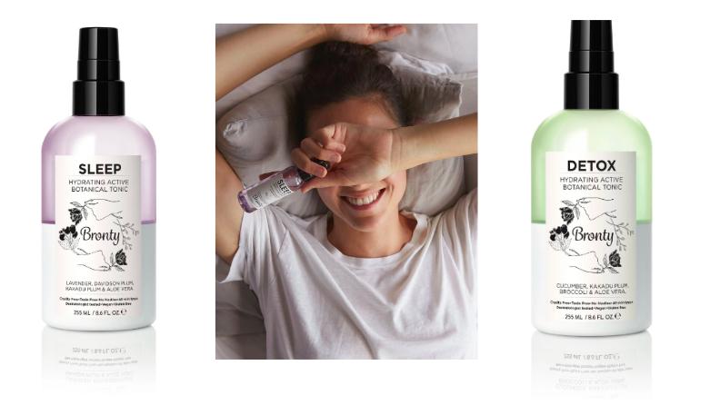 I❤️SLEEP -  Bronty Beauty  has SIX different tonics: sleep / detox / glow / refresh / restore / cleanse