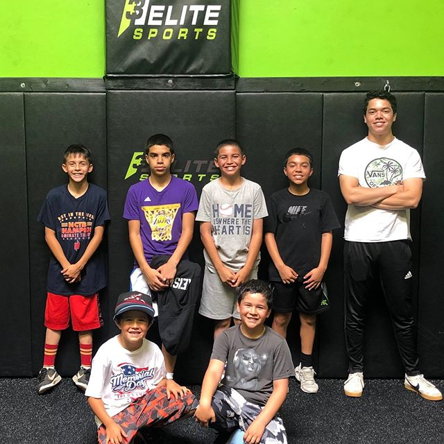 "First day of ""Summer Morning Workouts"" was a blast. These boys will be bigger, stronger & faster when we're done.  Summer Schedule: M-Th 9am-12pm 6-12yr old. $100/week or $30/day. We'll still have our regular evening schedule. M,W,Th: Kids Agility:6-7pm. HS Weights:6-7pm. HS Speed & Agility: 7-8pm.  Tuesday: Beg. Weights 12-14yrs old 6-7pm.  HS Weights: 7-8pm.  HS Speed & Agility: 8-9pm #summerprogram #grind #hardworkpaysoffs #comegetsome #h3elitesports #sanbruno #southcity #yougetoutwhatyouputin #sportspecific #positionspecific #athletetraining #baseball #softball #football #basketball #soccer #rugby #onestopshop #whosnext #studentathlete #kidstraining #buildingbetterpeople #lifelessons #itsamentality #coachlife #mentor #lovewhatido #givingback"