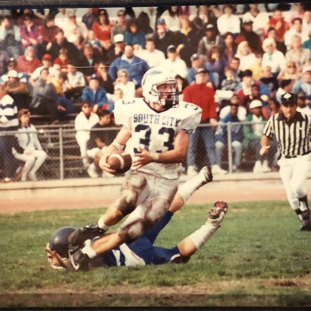 Here's a #tbt ... 11-0, CCS Champions, 38 Touchdowns Also No classes tonight! Enjoy your weekend 🙏🏻 #blessed #familytime