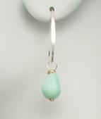 Add our handmade Peruvian Opal 'mini' arc earring to create a set.