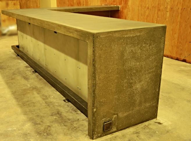 Brown Dog Bistro Concrete Countertop