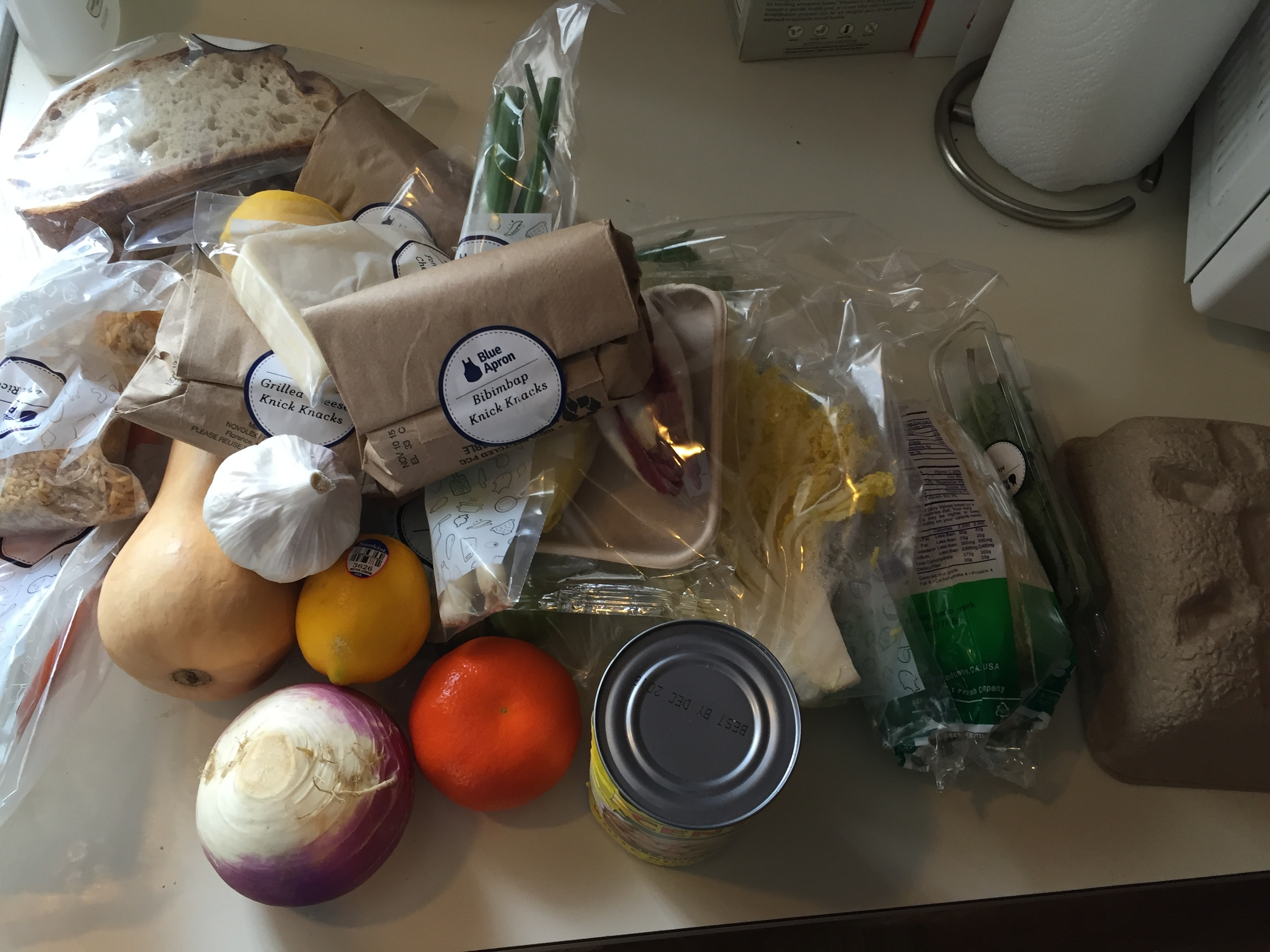 First Delivery from  Blue Apron