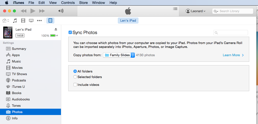 iCloud Photo Library and iTunes Sync Solutions — Timebox
