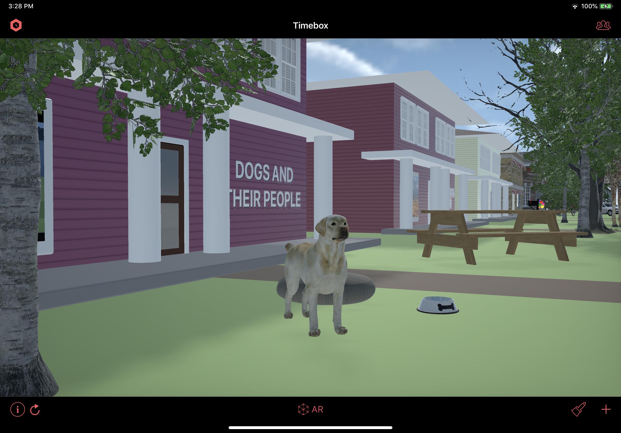New Labrador Retriever 3D model.
