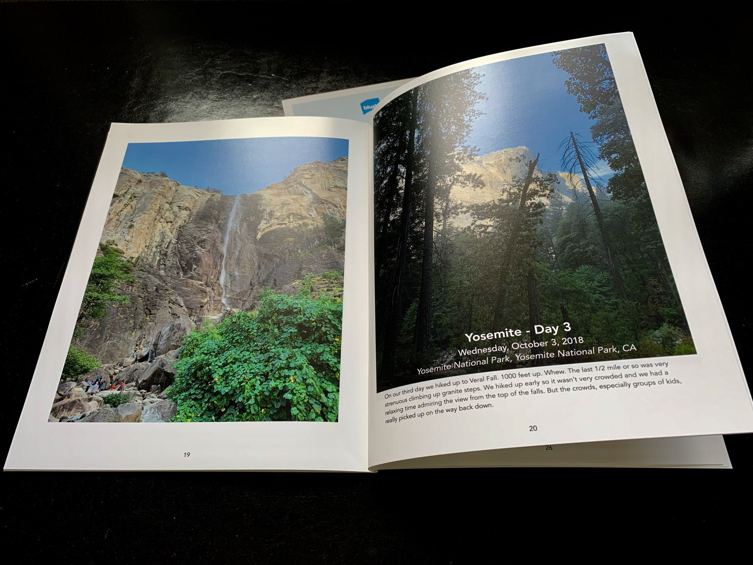 Timebox PDF printed by Blurb as a magazine-style photo book.