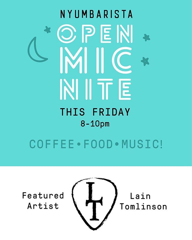 Our friends at @nyumbaristaohv have an open mic night every Friday. We'll be there running sound for the evening to ensure the best experience for both listeners and performers. Come check it out & say hi to us when you do!  #nashvilleopenmic #nashville #singersongwriter #nashvilleunsigned
