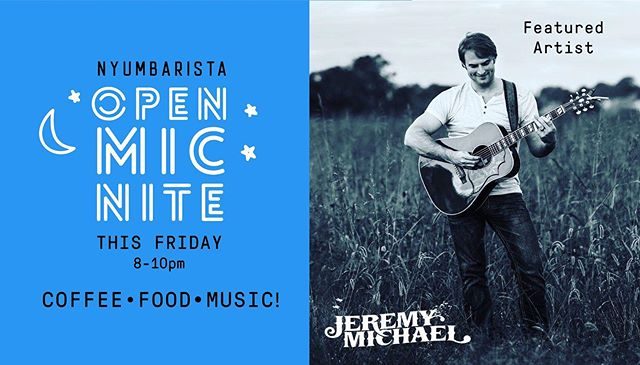 Find us tomorrow night running sound for a bunch of talented local artists at @nyumbaristaohv open mic night! Don't miss featured artist @jeremymichaelmusic!  #nashvillelocalmusic #openmicnight  #nashvillemusicians #nashvillemusicscene