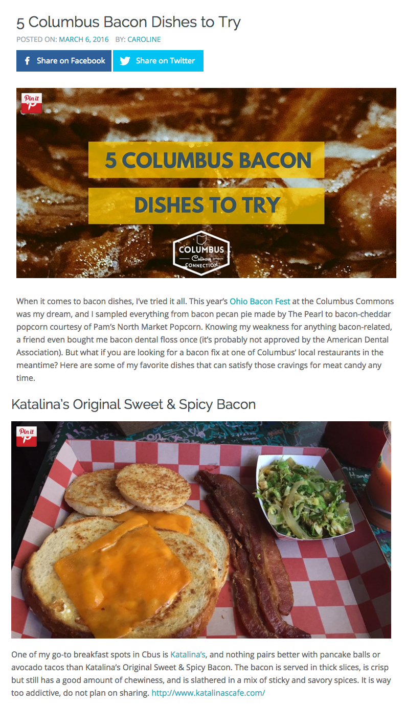 Columbus Culinary Connection