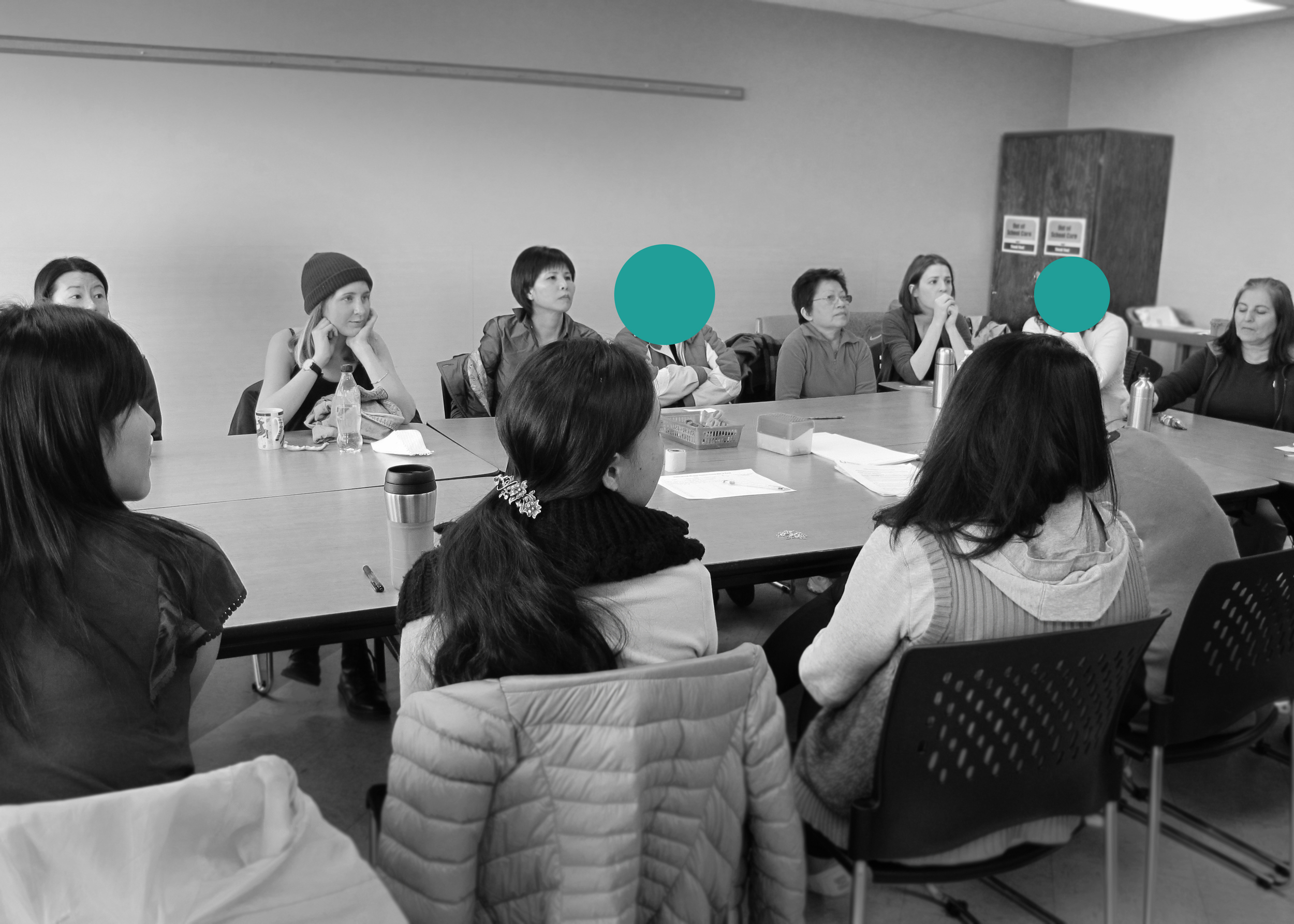 Participants of the workshop at the South Vancouver Neighbourhood House