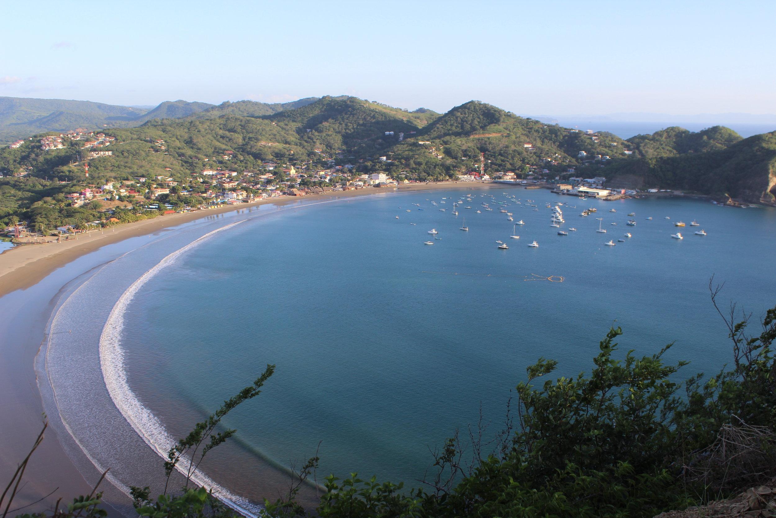 San Juan del Sur y Playa Hermosa -