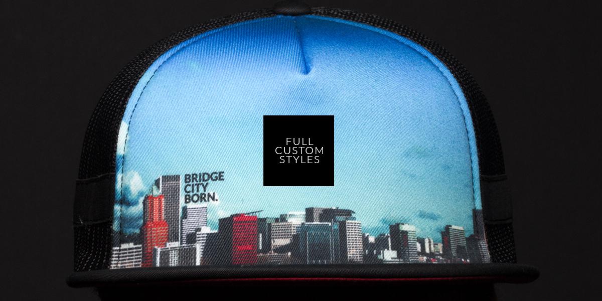27d261e8 FULL CUSTOM HEADWEAR — CAPTUER HEADWEAR