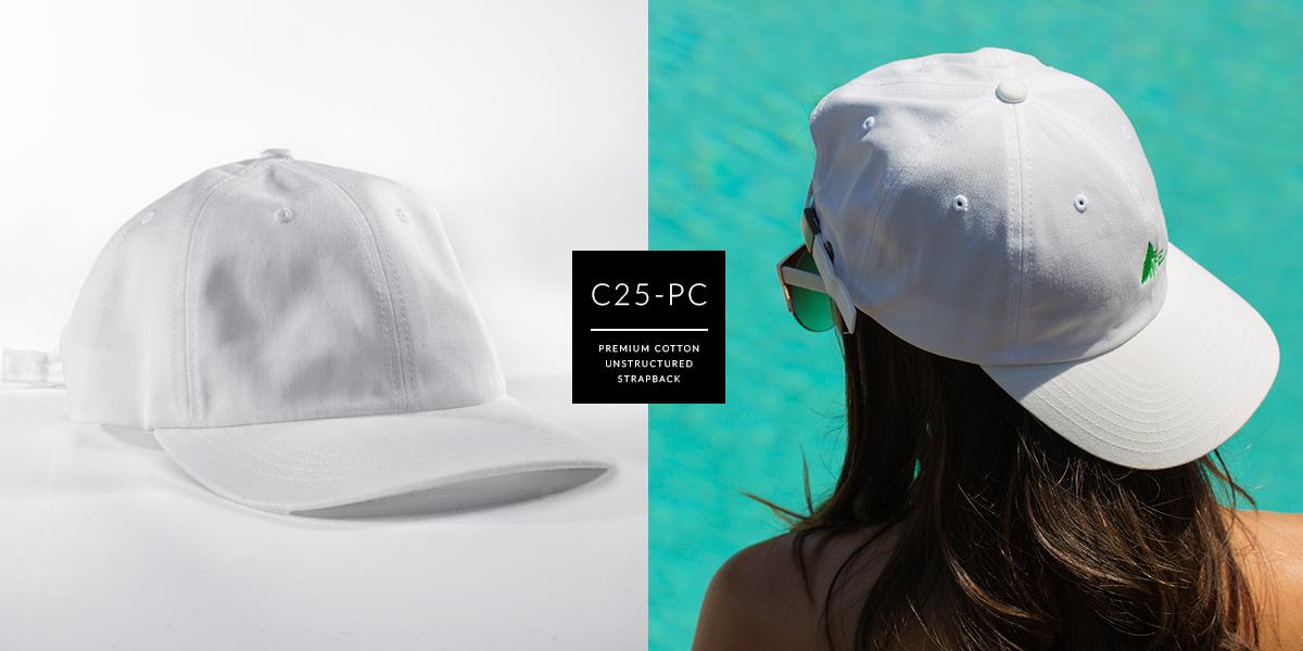 C25-PC // The Dad Hat - Premium Cotton // Strapback