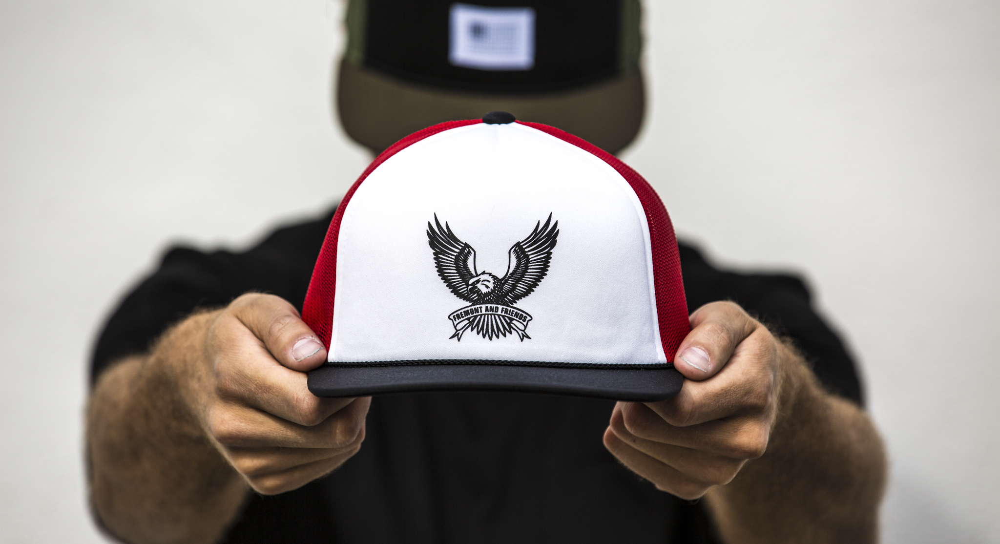 FNF Eagle Trucker Red Black White Main WEb.jpg