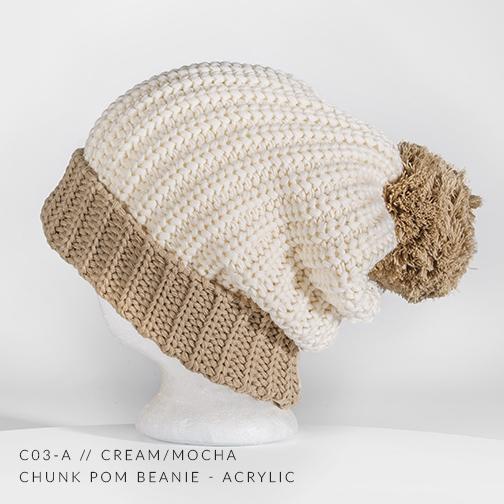 C03-A // CREAM/MOCHA