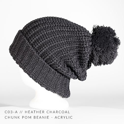 C03-A // HEATHER CHARCOAL
