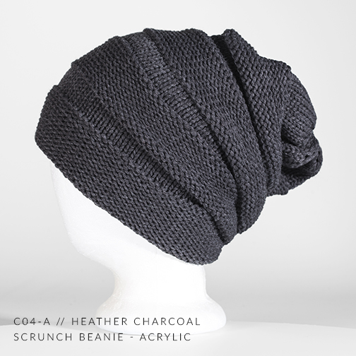 C04-A  // HEATHER CHARCOAL