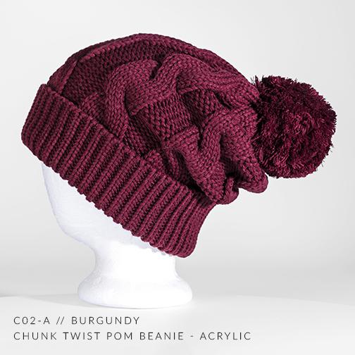 c02-A // Burgundy