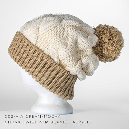 c02-A // Cream & Mocha