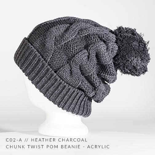 c02-A // Heather Charcoal