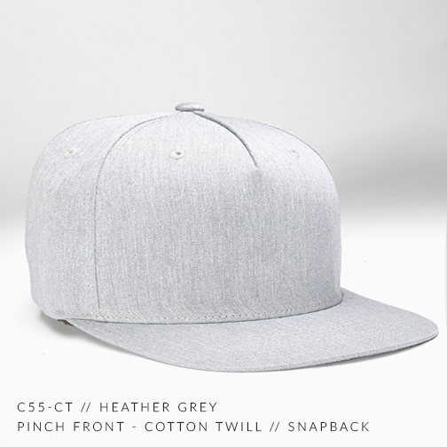 C55-CT // Heather Grey