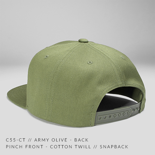 C55-CT // Army Olive Back