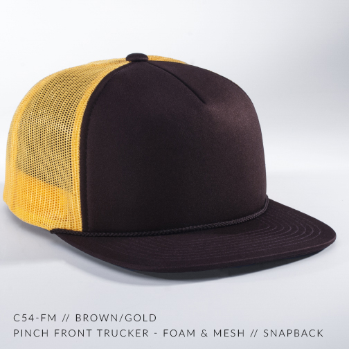 C54-FM // Brown/Gold