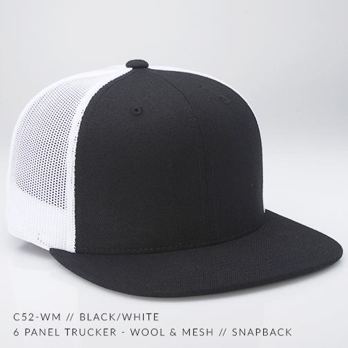 c52-WM // Black/White