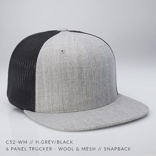 c52-WM // H.Grey/Black