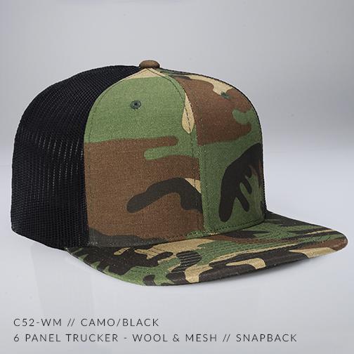 c52-WM // Camo/Black