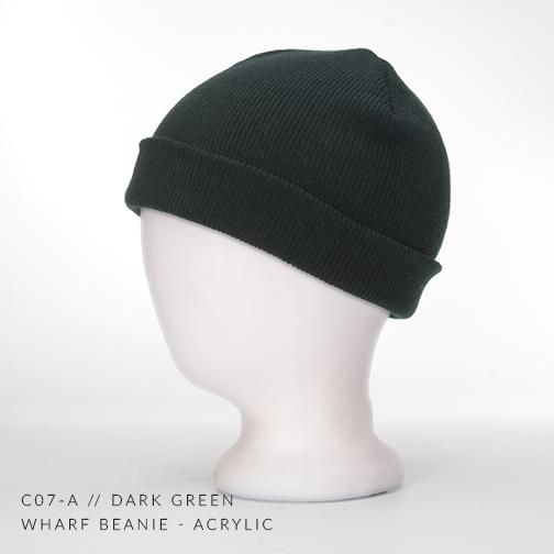 c07-A // DARK GREEN