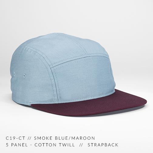 c19-CT // SMOKE BLUE-MAROON