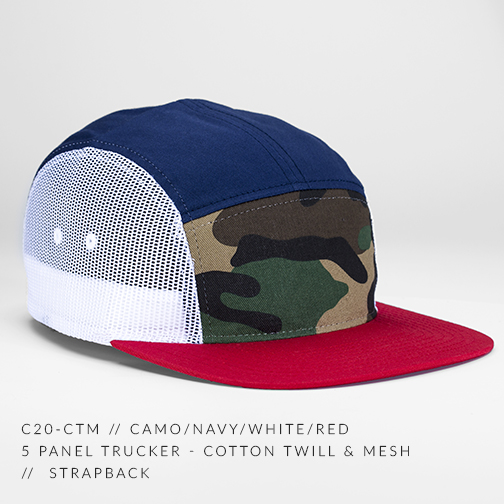 C20-CTM // CAMO/NAVY/WHITE/RED