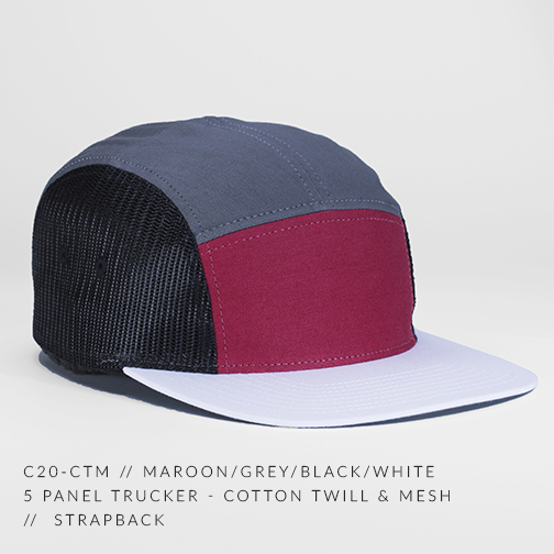 C20-CTM // MAROON/GREY/BLACK/WHITE