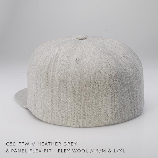 c50-FFW // HEATHER GREY BACK