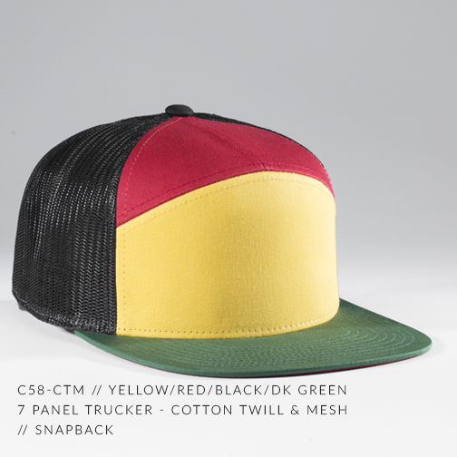 c58-CTM // YELLOW/RED/DK GREEN