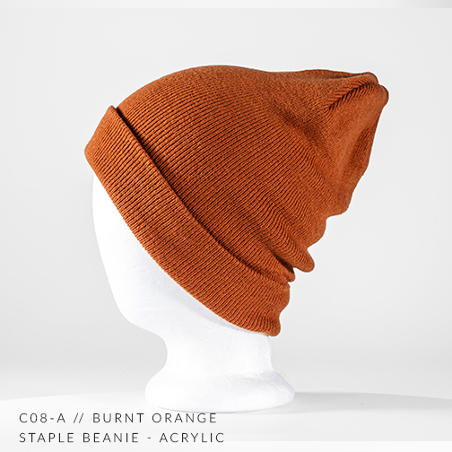 c08-A // BURNT ORANGE
